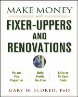 Cover image for Make money with fixer-uppers and renovations