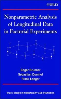 Cover image for Nonparametric analysis of longitudinal data in factorial experiments
