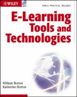 Cover image for E-learning tools and technologies : a consumer's guide for trainers, teachers, educators, and instructional designers