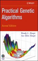 Cover image for Practical genetic algorithms