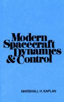 Cover image for Modern spacecraft dynamic and control