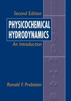 Cover image for Physicochemical hydrodynamics : an introduction