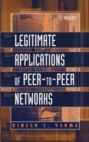 Cover image for Legitimate applications of peer-to-peer networks