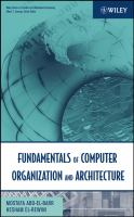 Cover image for Fundamentals of computer organization and architecture