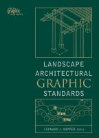 Cover image for Landscape architectural graphic standards