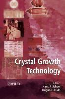 Cover image for Crystal growth technology