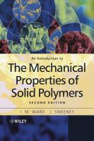 Cover image for An introduction to the mechanical properties of solid polymers