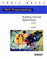 Cover image for Web programming : building internet application