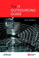 Cover image for The IT outsourcing guide