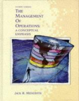 Cover image for The management of operations : a conceptual emphasis
