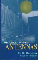 Cover image for Phased array antennas