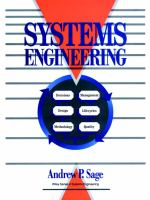 Cover image for Systems engineering