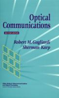 Cover image for Optical communications