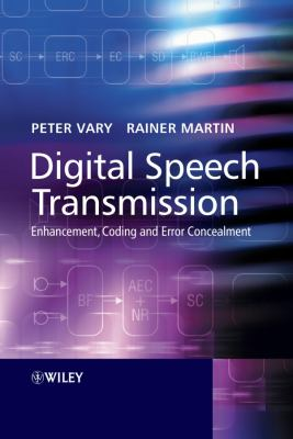 Cover image for Digital speech transmission : enhancement coding and error consealment