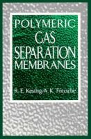 Cover image for Polymeric gas separation membranes
