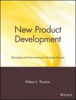 Cover image for New product development : managing and forecasting for strategic success