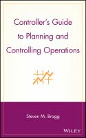 Cover image for Controller's guide to planning and controlling operations
