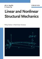 Cover image for Linear and nonlinear structural mechanics