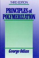 Cover image for Principles of polymerization