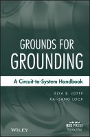 Cover image for Grounds for grounding : a circuit to system handbook