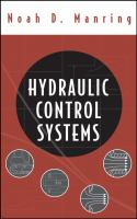 Cover image for Hydraulic control systems