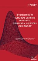 Cover image for Introduction to numerical ordinary and partial differential equations using MATLAB
