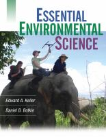 Cover image for Essential environmental science