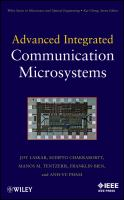 Cover image for Advanced integrated communication microsystems
