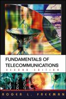 Cover image for Fundamentals of telecommunications