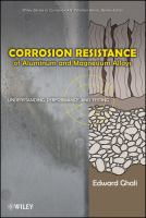 Cover image for Corrosion resistance of aluminum and magnesium alloys : understanding, performance, and testing