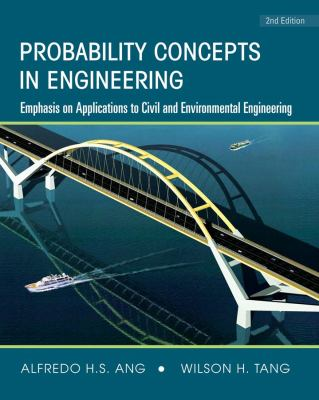 Cover image for Probability concepts in engineering : emphasis on applications to civil and environmental engineering
