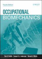 Cover image for Occupational biomechanics