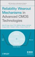 Cover image for Reliability wearout mechanisms in advanced CMOS technologies