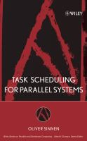 Cover image for Task scheduling for parallel systems