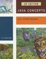 Cover image for Java concepts