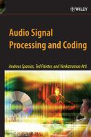 Cover image for Audio signal processing and coding