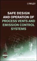 Cover image for Safe design and operation of process vents and emission control systems