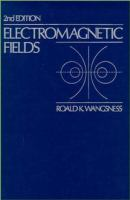 Cover image for Electromagnetic fields