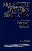 Cover image for Molecular dynamics simulation : elementary methods
