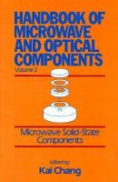 Cover image for Handbook of microwave and optical components