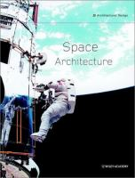 Cover image for Space architecture