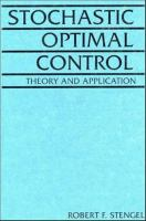 Cover image for Stochastic optimal control : theory and application