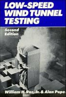 Cover image for Low-speed wind tunnel testing