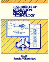Cover image for Handbook of separation process technology