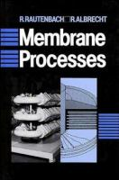Cover image for Membrane separation