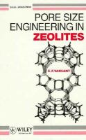 Cover image for Pore size engineering zeolites