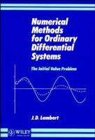 Cover image for Numerical methods for ordinary differential systems : the initial value problem