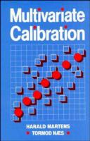 Cover image for Multivariate calibration