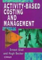 Cover image for Activity-based costing and management