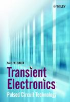 Cover image for Transient electronics : pulsed circuit technology